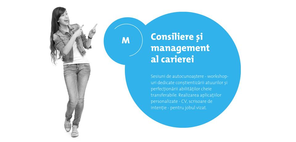 Consiliere si management al carierei